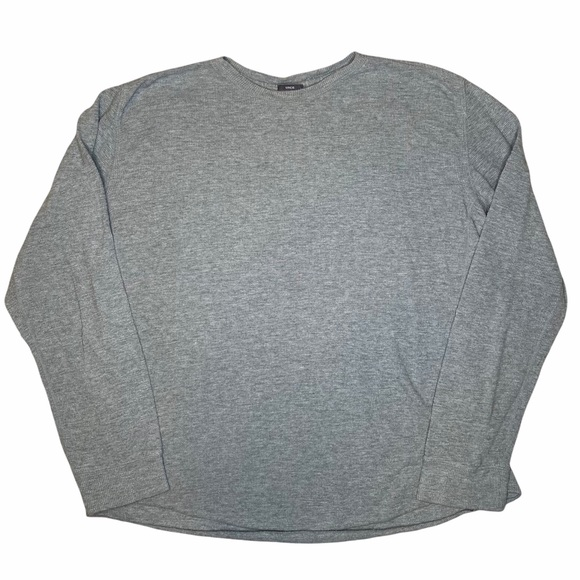 Vince Lightweight Long Sleeve Gray Shirt Mens XL